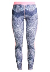 Roxy Keep It Warm Tights Peacot Avoya Multicoloured