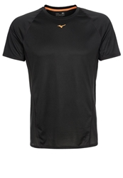 Mizuno Drylite Performance Sports Shirt Black