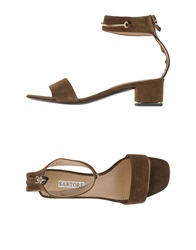 Sartore Sandals Military Green