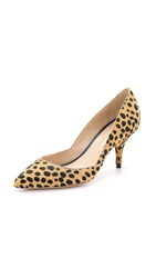 Loeffler Randall Jolie Haircalf Pumps Cheetah