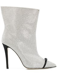 Marco De Vincenzo Pointed Toe Boots Metallic