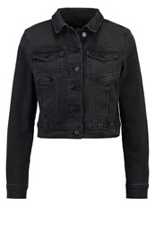 Evenandodd Denim Jacket Black Denim