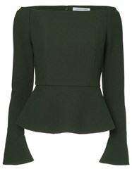 Rachel Gilbert Winona Top Green