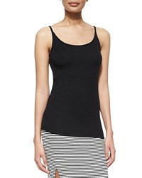 Atm Anthony Thomas Melillo Long Slim Ribbed Cami Black