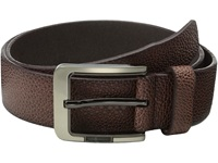 Stacy Adams 38Mm Large Pebble Grain Leather Brown Men's Belts
