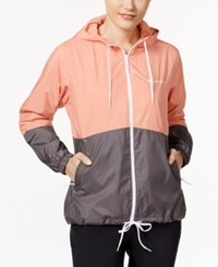 Columbia Flash Forward Fleece Lined Windbreaker Light Coral Pulse