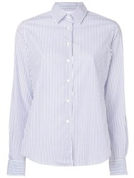 Aspesi Striped Shirt White