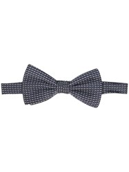 Canali Patterned Bow Tie 60