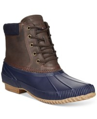 Tommy Hilfiger Charlie Duck Boots Men's Shoes Navy