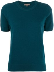 N.Peal Cashmere Short Sleeved Top Green