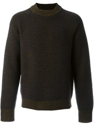 Marni Crew Neck Jumper Brown