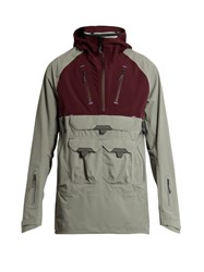 7L Lightweight Hooded Performance Jacket Grey Multi