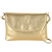 Tula Party Leather Across Body Bag Gold
