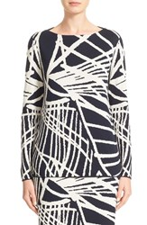 Lafayette 148 New York Women's Spindled Jacquard Sweater