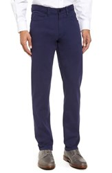 Bugatchi Men's Straight Leg Five Pocket Pants Midnight