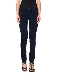 Henry Cotton's Denim Denim Trousers Women Dark Blue