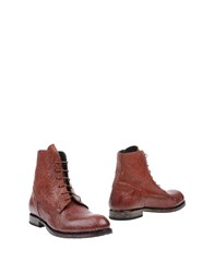 Moma Ankle Boots Brown
