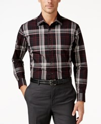 Tasso Elba Men's Plaid Shirt Only At Macy's Black Combo