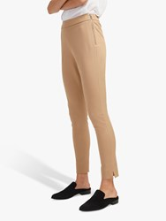 French Connection Kara Skinny Trousers Wet Sand