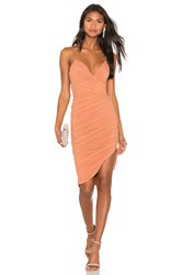 Nookie Moscow Mini Dress Burnt Orange