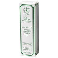 Taylor Of Old Bond Street Shaving Cream Tube 75G Lemon And Lime