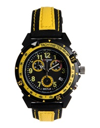 Sector Wrist Watches Yellow
