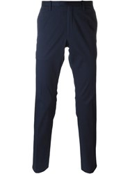 Michael Kors Slim Fit Trousers Blue
