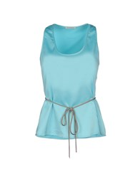 Phard Topwear Tops Women Sky Blue