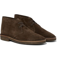 Drakes Drake's Clifford Suede Desert Boots Brown