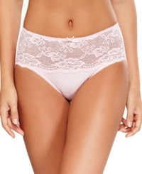 Jones New York Lace High Cut Brief 610206 Nude