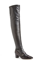 Sarah Jessica Parker Sjp 'Zee' Over The Knee Boot Women Black Leather