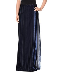 Veronique Branquinho Skirts Long Skirts Women Dark Blue