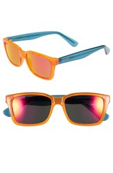 Women's Converse 55Mm Retro Sunglasses Orange