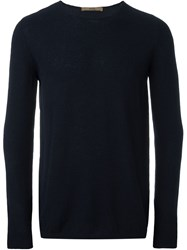 Nuur Crew Neck Sweater Blue