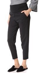 Hatch High Waisted Ponte Pants Black
