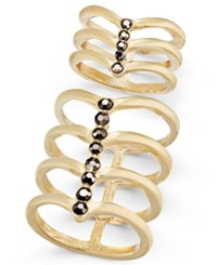 Inc International Concepts Gold Tone 2 Pc. Set Stone Multi Row Rings Only At Macy's