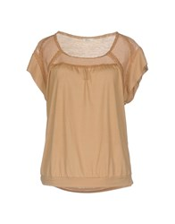 Gold Case T Shirts Brown