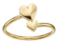 Alex And Ani Romance Heart Wrap Ring Gold Ring