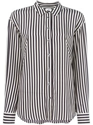 Closed Striped Shirt Black