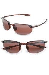 Men's Maui Jim 'Ho'okipa Polarizedplus2' 63Mm Sunglasses Tortoise