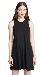 Nation Ltd. Ltd Phoebe A Line Dress Jet Black