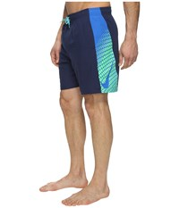 Nike Clash 7 Volley Shorts Midnight Navy Men's Swimwear Blue