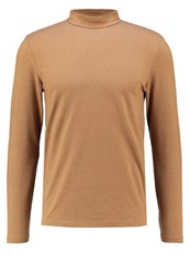 Jack And Jones Long Sleeved Top Camel