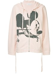 Faith Connexion Mickey Mouse Hoodie Pink