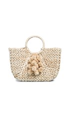 Hat Attack Round Handle Tote Neutral