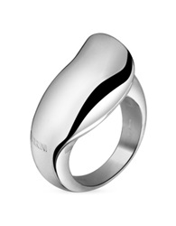 Torrini Curved Sterling Silver Ring