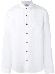 Stone Island Patch Pocket Shirt White