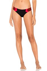 L Space Barracuda Reversible Bikini Bottom Black