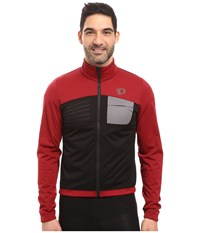 Pearl Izumi Select Escape Softshell Jacket Tibetan Red Black Men's Coat