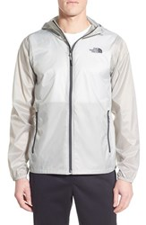 The North Face Men's Cyclone Windwall Raincoat High Rise Grey